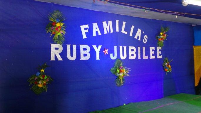 FAMILIA'S RUBI JUBILEE 2017
